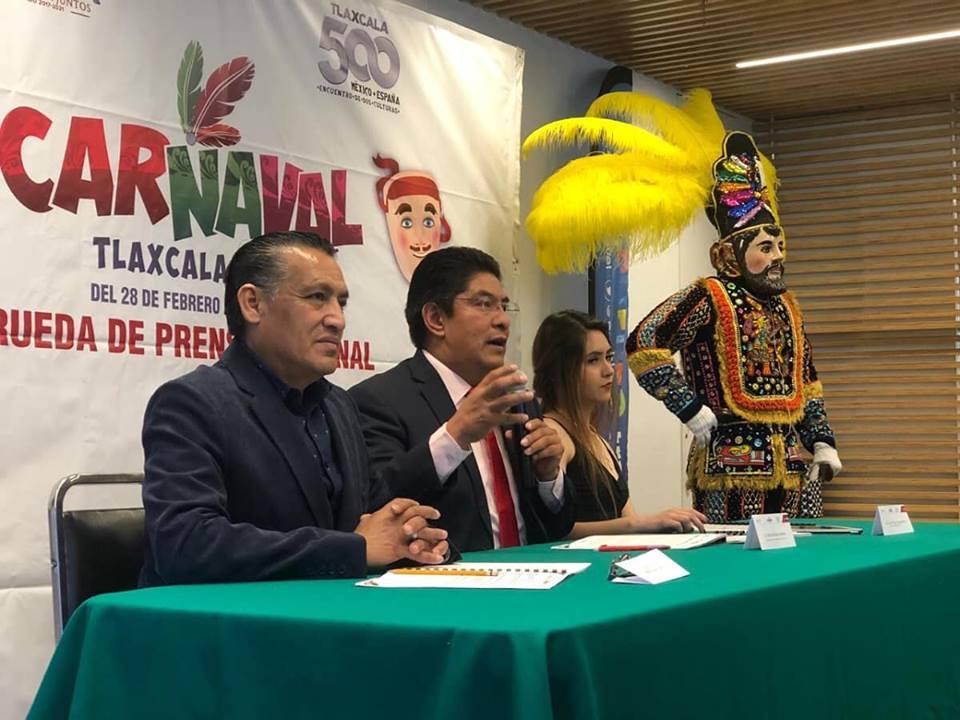"""PRESENTAN EN CDMX ACTIVIDADES DEL """"CARNAVAL 500 AÑOS TLAXCALA 2019"""""""