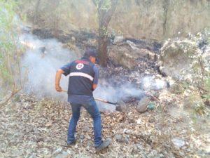 PROTECCIÓN CIVIL MUNICIPAL SOFOCA 2 INCENDIO EN TLALTELULCO.