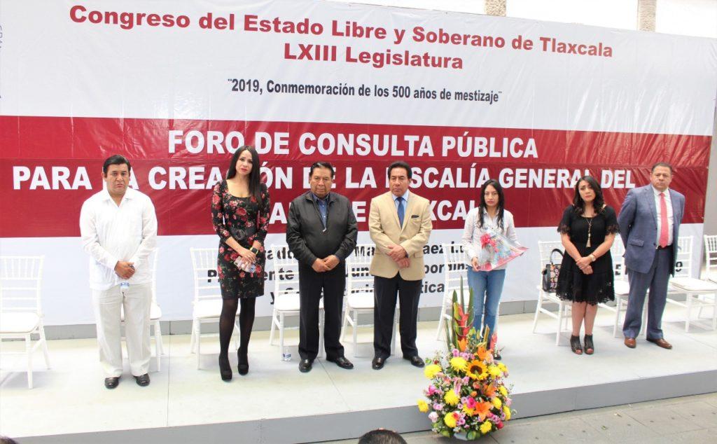 RESPALDAN ESPECIALISTAS PROPUESTA PARA LA CREACIÓN DE LA FISCALÍA GENERAL DEL ESTADO DE TLAXCALA