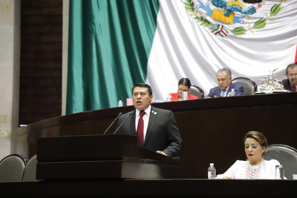 """""""NO SOMOS TRAIDORES"""": RUBÉN TERÁN; DEFIENDE A LOS TLAXCALTECAS EN LA MÁXIMA TRIBUNA DEL PAÍS"""