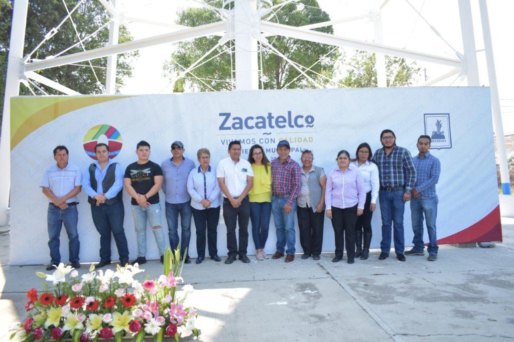 REINAUGURA TOMÁS OREA TANQUES ELEVADOS EN ZACATELCO; PRESENTABAN 12 AÑOS SIN MANTENIMIENTO