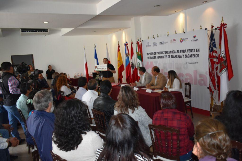 CON 1.5 MDP FORTALECE GOBIERNO, TIENDAS DE ABARROTES DE ZACATELCO