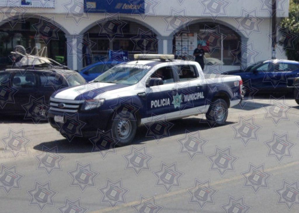 INTERVIENE POLICÍA DE XICOHTZINCO EN RIÑA DE PAREJA
